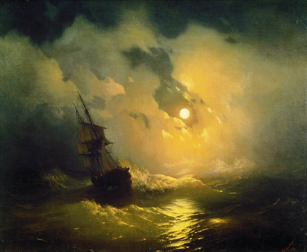 Картинки по запросу картины с бурей