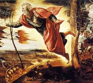 Со�во�ение живо�н�� Якопо Тин�о�е��о 1550
