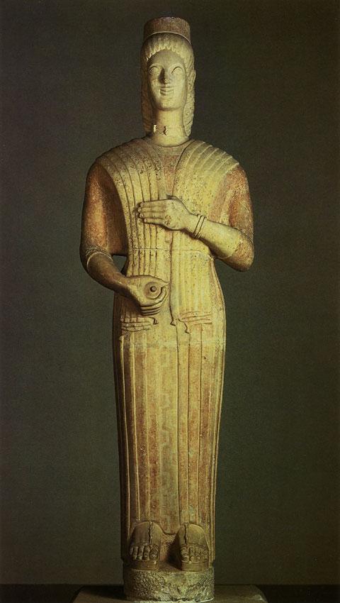Скульптуры Древней Греции Кратко