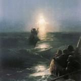 Хождение по водам, Айвазовский