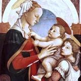 Мадонна и младенец с ангелом