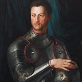 Портрет Козимо I де Медичи в доспехах