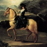 Портрет Марии-Терезы де Бурбон-и-Валлабрига на коне