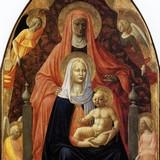 Мадонна с Младенцем, святой Анной и ангелами