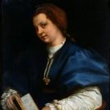 Портрет девушки с книгой стихов Петрарки