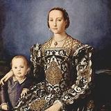 Портрет Элеоноры Толедской с сыном Джованни Медичи