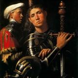 Воин и оруженосец (Гаттамелата)