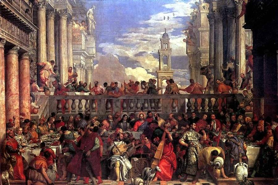 брак в кане галилейской паоло веронезе