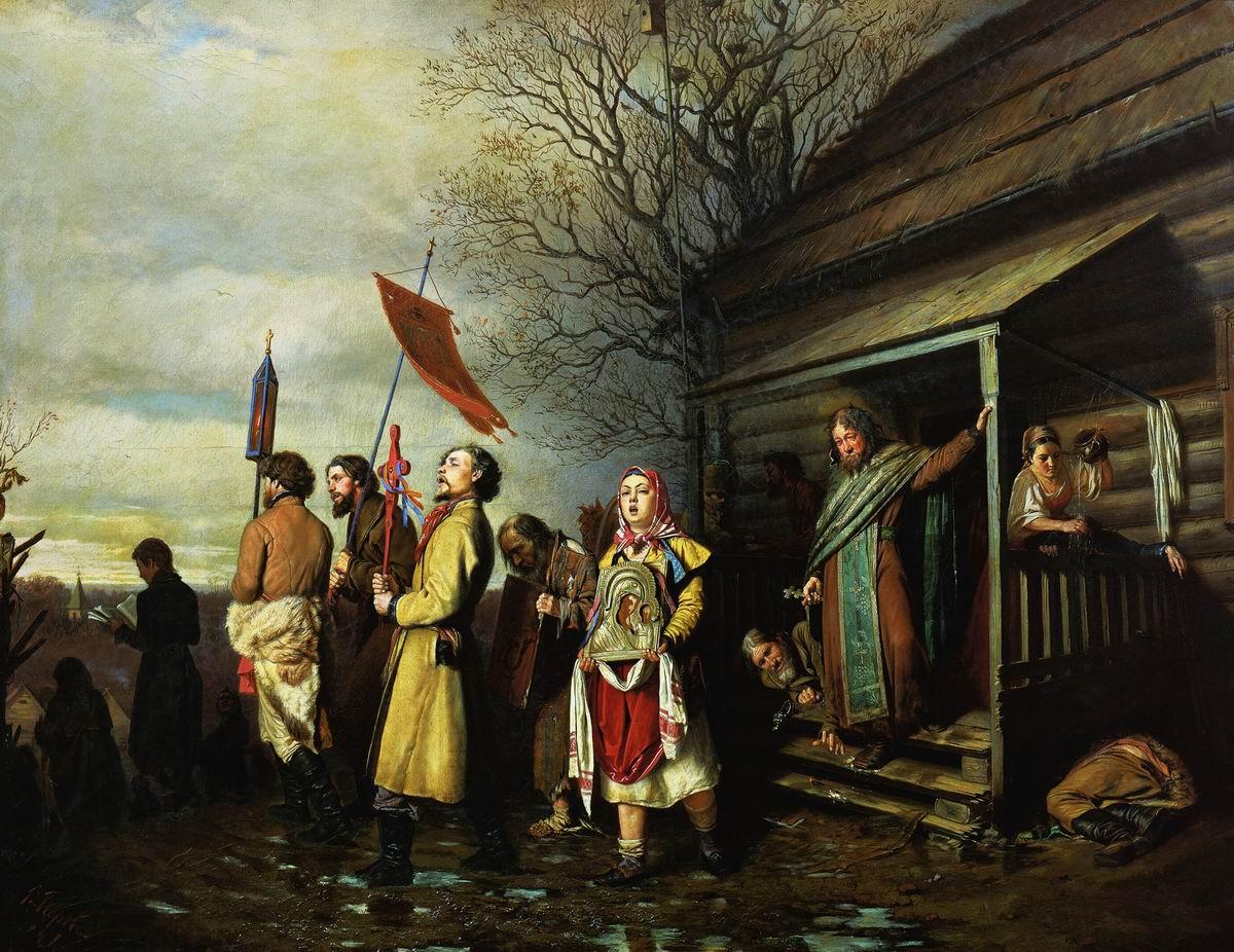 Картинки по запросу г перов сельский крестный ход на пасхе
