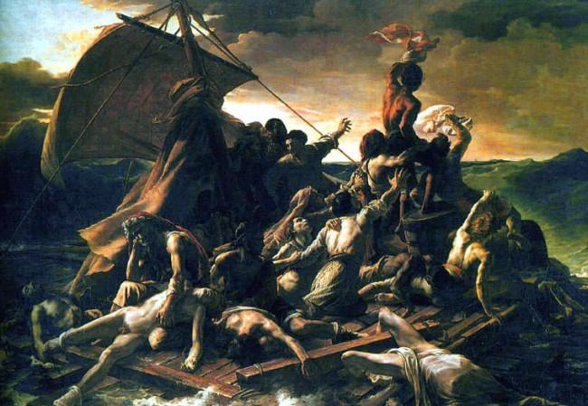 Картина «Плот Медузы», Теодор Жерико — описание