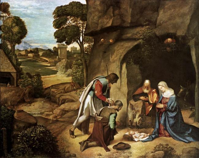 Картинки по запросу поклонение пастухов джорджоне