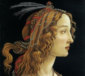 Портрет молодой женщины боттичелли анна савицкая