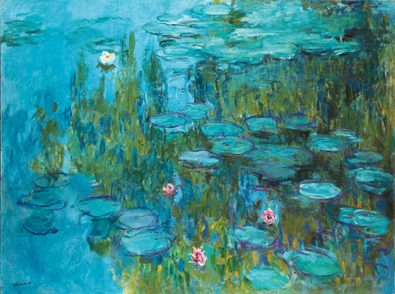 Картинки по запросу Клода Моне «Водяные лилии»
