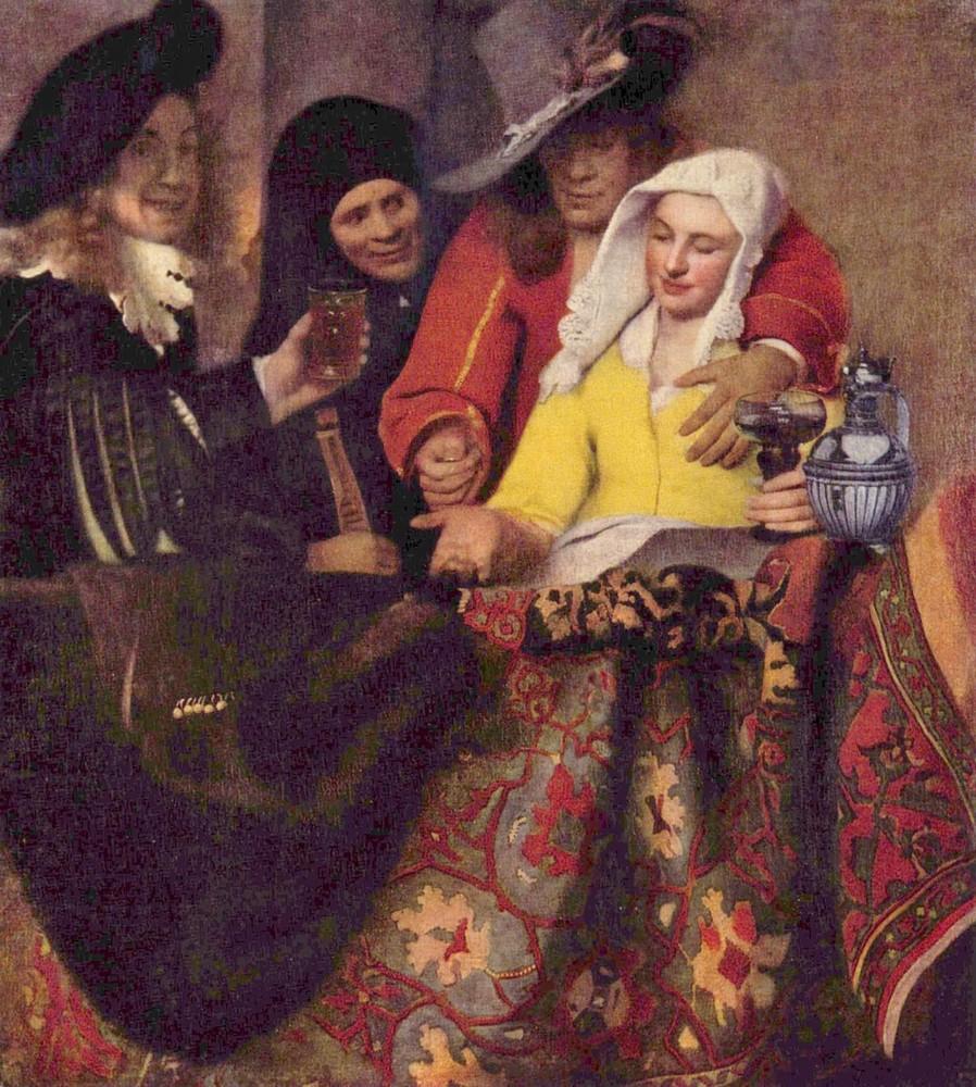У �водни Ян Ве�мее� Дел����кий 1656