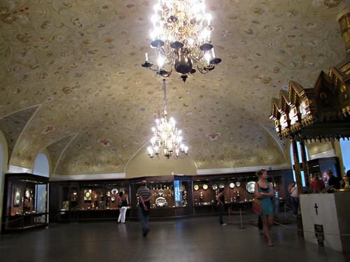 Крестовая палата в музее