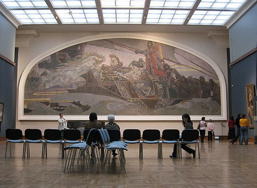 Третьяковская галерея в наши дни