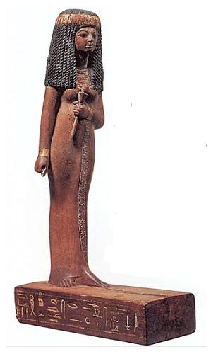 Этому экспонату из египетской коллекции Лувра более 3000 лет