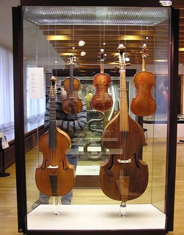 Коллекция скрипок в берлинском музее
