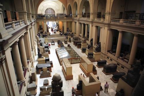 Один из залов Каирского музея