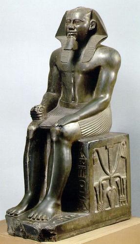 Статуя фараона Хафра