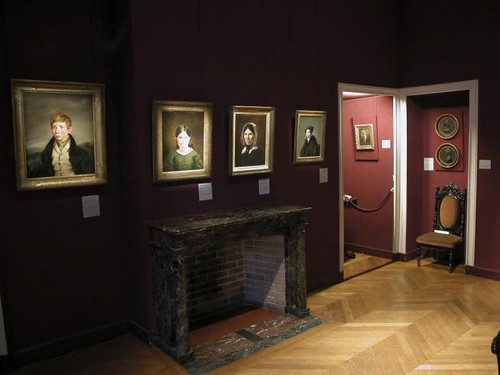 Одна из комнат дома-музея Эжена Делакруа в Париже