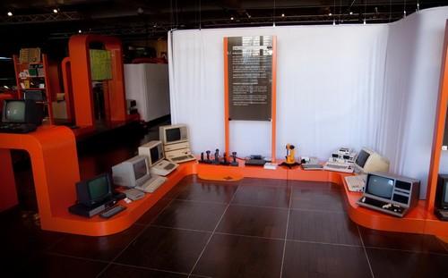 Экспонаты музея информатики