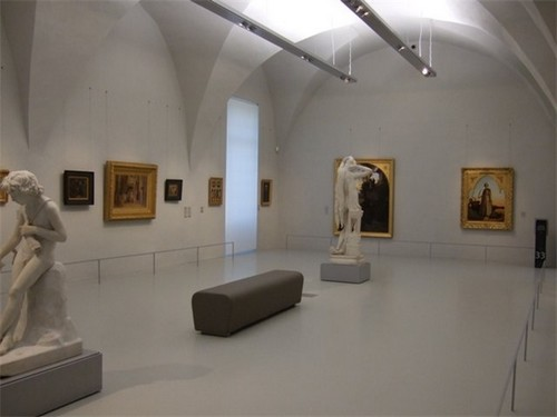 Один из залов музея Фабра