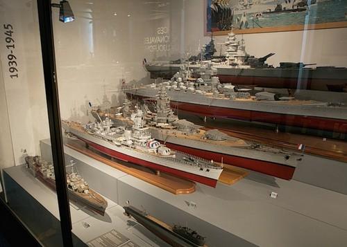 Модели авианосцев второй мировой войны в музее
