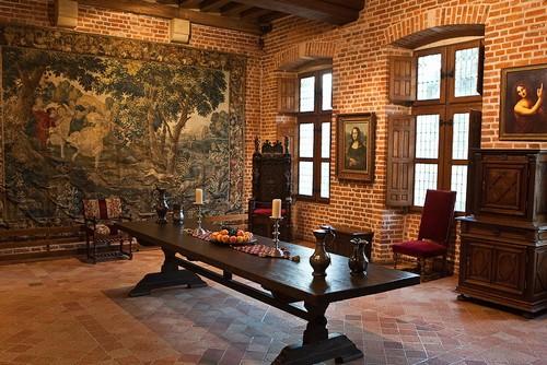 Одна из комнат дома-музея Леонардо да Винчи