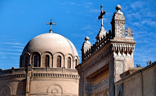Коптский музей с высоты