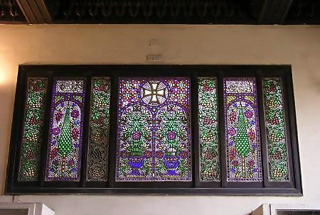 Окно в Коптском музее