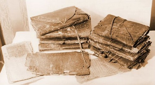 Манускрипты коптского музея