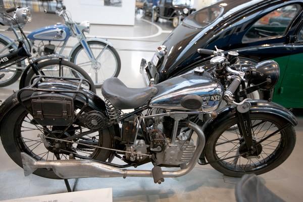 Мотоцикл в немецком музее