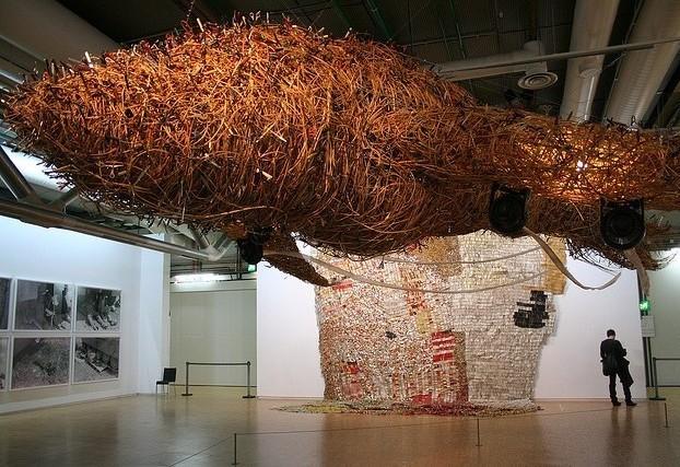 Произведения современного искусства в центре Жоржа Помпиду