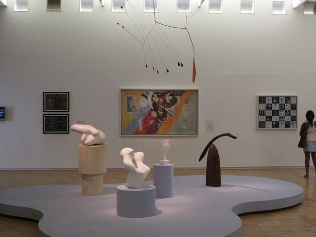 В музее современного искусства в Париже