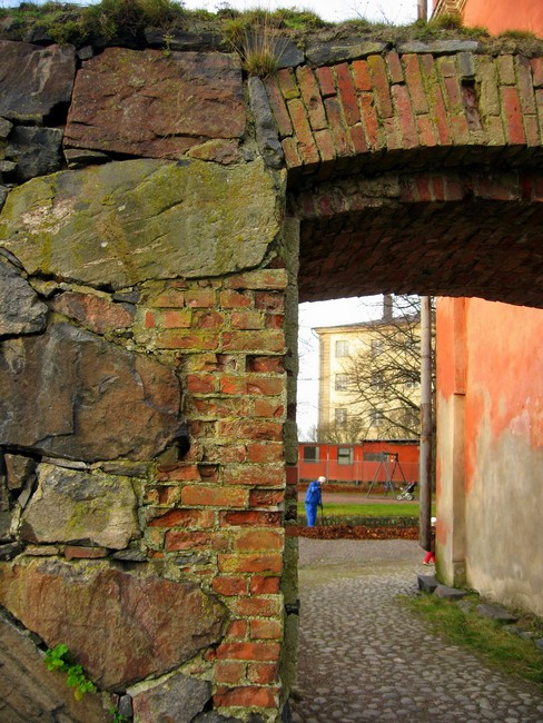 Арка в крепости Суоменлинна