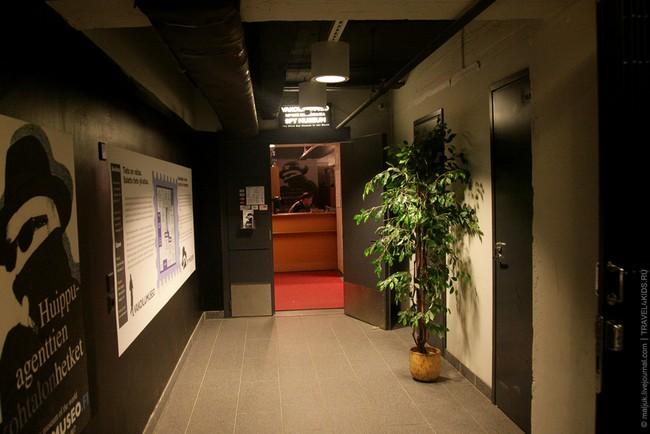 Комната, где можно прочесть биографию шпионов