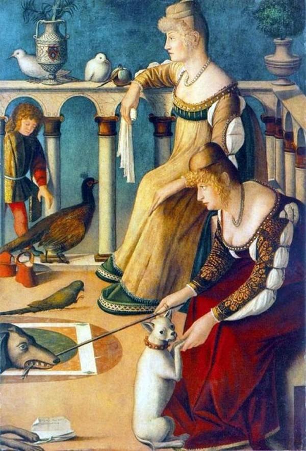 Витторе Карпаччо– «Две венецианки»