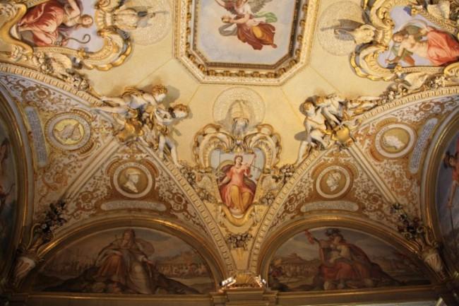 Палаццо Питти - потолок