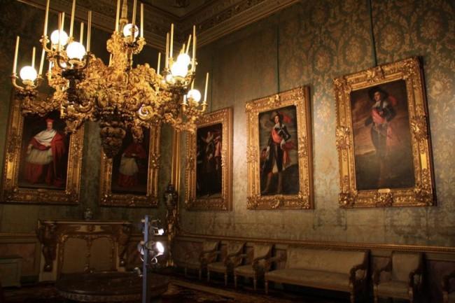 Один из залов Палаццо Питти