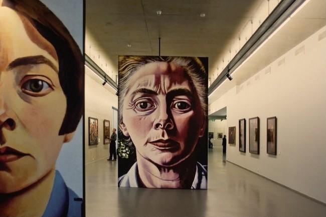 Портреты европейских художников можно увидеть в отдельном зале музея