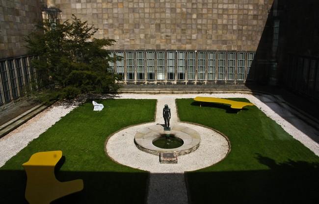 Вид на двор музея