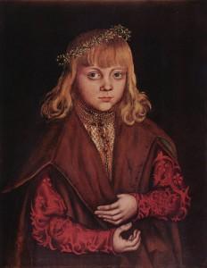 Портрет Саксонского принца