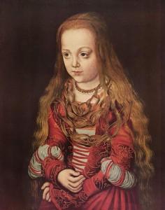 Портрет Саксонской принцессы