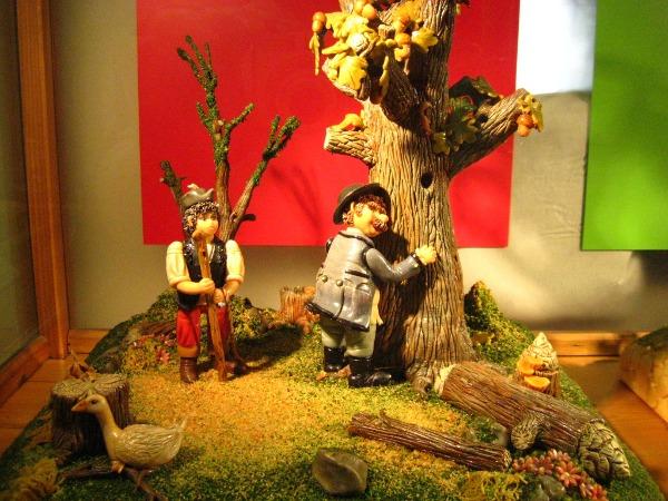 Люди и дерево