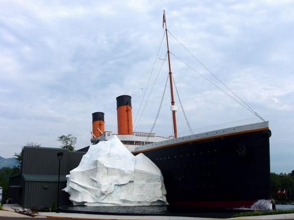 Музей Титаника в США - здание музея