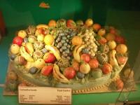 Фрукты из марципана