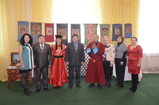 Сотрудники Кяхтинского музея