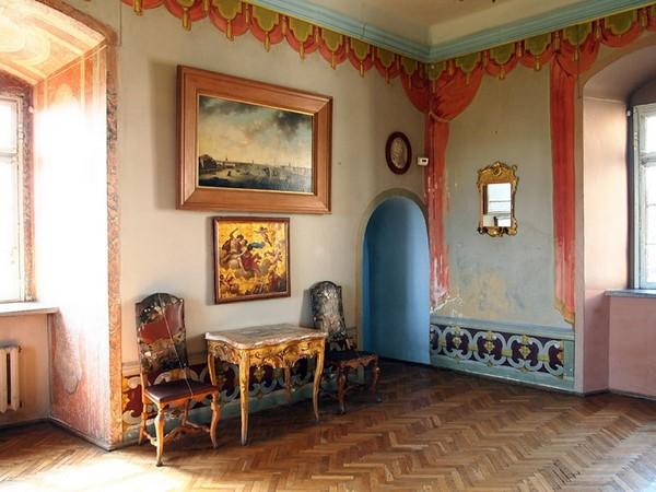 Одна из комнат Олеского замка