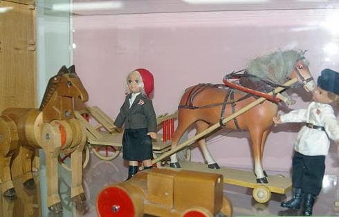 Советский трансформер лошадь